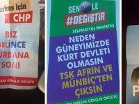 Ankara'da sahte HDP, CHP, İyi Parti broşürleri dağıtıldı
