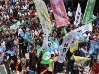 HDP eşbaşkanı Buldan Şemdinli'de halka seslendi!