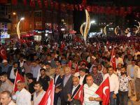 Hakkari'de '15 Temmuz' anma yürüyüşü düzenlendi
