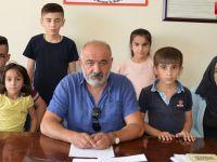 6 çocuğu ile, PKK tarafından kaçırılan eşini arıyor