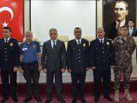 Hakkari Emniyet Müdürlüğünde terfi töreni