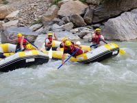 Hakkari Cilo rafting takımı Türkiye şampiyonasına hazırlanıyor