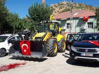 Çukurca belediyesine 3 tane yeni araç hibe edildi