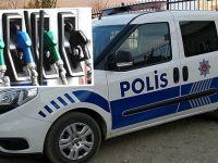 Polis memuru ekip otosunun yakıtını satarken yakalandı
