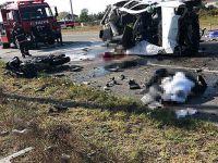 Katliam gibi kaza! 7 kişi olay yerinde hayatını kaybetti