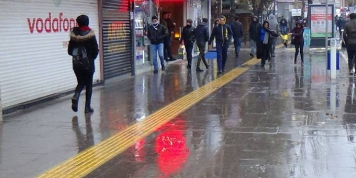 Hakkari'de sağanak yağış uyarısı