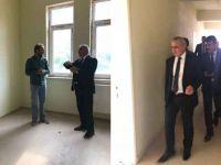 Gür, Şemdinli'de okul inşaatlarını denetledi