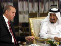 Erdoğan ve Kral Selman Kaşıkçı'yı Görüştü