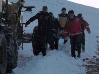 Muş'ta, 'çığ' düşünce mahsur kalan 11 kişi kurtarıldı