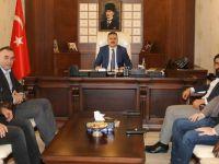 İş adamlarından Hakkari Valisi Akbıyık'a ziyaret