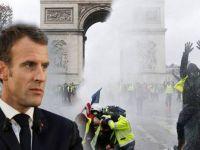 Macron, Sarı Yelekliler ile görüşecek