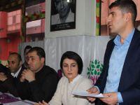 Hakkari HDP ve DBP'den halk toplantısı