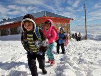 Başkale ve Bahçesaray'da Okullara Kar Tatili
