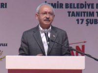 CHP lideri Kılıçdaroğlu İzmir'de konuştu