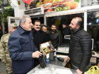 Milli Savunma Bakanı Akar ve Genelkurmay Başkanı Güler Hakkari'de