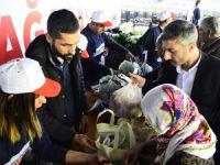 'Halka bağışlanan ürünler tanzimde ücretli satıldı'
