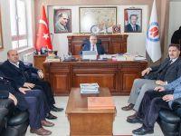 Başkan Er'den Rektör Pakiş'e ziyaret