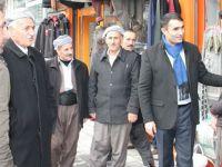 HDP'nin Şemdinli adaylarından esnaf ziyareti