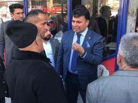 İYİ Parti Hakkari yönetiminden esnaf ziyareti