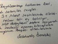 Demirtaş'tan Beytüşşebap'a özel mesaj