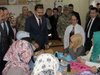Hakkari Valisi Akbıyık'tan Şemdinli ve Derecik ziyareti