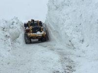 Hakkari-Durankaya yoluna çığ düştü VİDEO