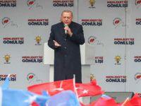 Cumhurbaşkanı Erdoğan Van'da konuştu!