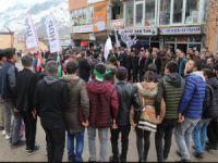 HDP'li Dede Şemdinli'de konuştu
