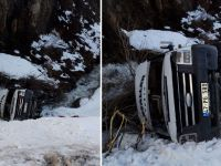Durankaya yolunda kaza