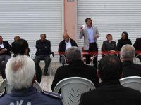 Başkale belediyesi personeli ile toplantı yaptı