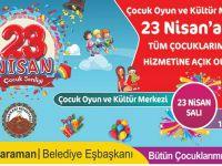 Hakkari Belediyesi'nden çocuklara 23 Nisan jesti!