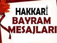 Hakkari Ramazan Bayramı mesajları
