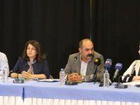 BM Komisyon üyeleri siyasi partiler ve STÖ'lerle bir araya geldi
