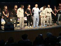 Asmin Tiyatro ekibi Zozan için sahne aldı