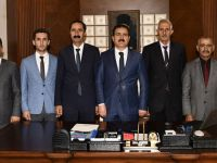 Ak Partili encümenlerden Vali Akbıyık'a ziyaret