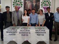 Hakkari HDP ve DBP'den hareketli seçmen açıklaması