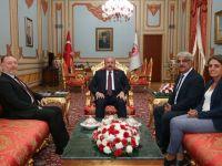 HDP'den Meclis Başkanı Şentop'a ziyaret