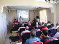 Başkale belediyesi esnaf ile toplantı yaptı