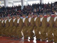 Hakkari'de kulüpler arası Halk oyunları düzenlendi
