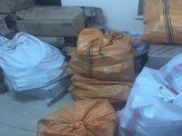 Yüksekova'da 40 bin 500 paket sigara ele geçirildi