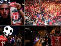 Liverpoollu taraftarların İstanbul'da gece eğlencesi