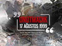 Kurt ve Yacan'dan '17 Ağustos Depremi mesajı
