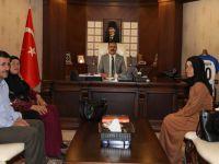 Hakkari'nin tek kadın muhtarından Vali Akbıyık'a ziyaret
