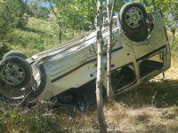 Hakkari'de kaza: 40 metrelik uçuruma yuvarlandı!