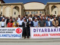Hakkari'deki STK'lardan Diyarbakır'a destek açıklaması!