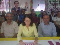 Hakkari HDP'den Demirtaş ve Yüksekdağ kararına tepki