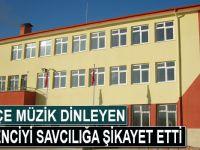 Kürtçe müzik dinleyen 6 öğrenciyi savcılığa şikayet etti