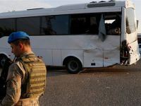 Askeri midibüs ile tır çarpıştı: 1 şehit, 14 yaralı
