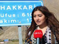 Otostopla çıktığı Türkiye turunu, Hakkari'de tamamladı