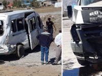 Yüksekova'da kaza: 6 yaralı